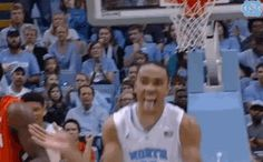 New party member! Tags: happy basketball excited celebration celebrate clapping clap carolina unc north carolina tar heels goheels pumped up go heels tarheels carolina basketball uncbball uncmbb brice johnson happy clap