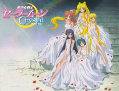 Sailor Moon Official Images Crystal