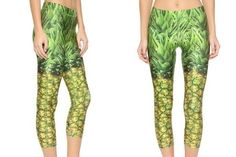 Pineapple Performance Leggings - Shop the Trend: How to Rock Pineapple Prints - Photos