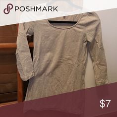 Quarter sleeve No trades Charlotte Russe Tops Tees - Long Sleeve
