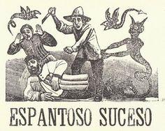 Jose Guadalupe Posada - Espantoso suceso.