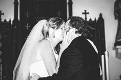 The Bride and Grooms first kiss Married! First Kiss, Grooms, Bodybuilding, Bride, Couple Photos, Fitness, Creative, Wedding, Wedding Bride