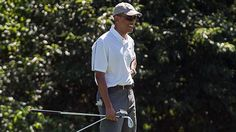 "Barack Obama Shrugs Off Michael Jordan's ""Sh---y Golfer"" Remark"