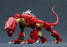 Stórhǫggvi by Steven Legos, Lego Robot, Lego Moc, Robots, Lego Dragon, Lego Sculptures, Lego Animals, Amazing Lego Creations, Lego Pictures