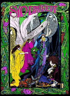 Syd Barrett Tribute - Poster by Bob Masse