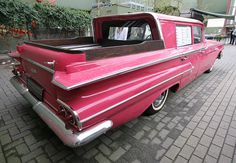 pink hearse pick up