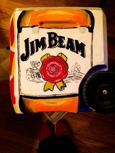 Jim beam cooler side #cooler #formal #JimBeam #crafting
