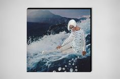 """Saatchi Online Artist: Erin Case; Digital, 2013, Assemblage / Collage """"Diamonds (front)"""""""