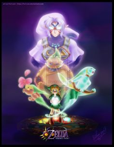 The Legend of Zelda: Majora's Mask | Young Link, Deku Link, Goron Link, Zora Link, and Fierce Deity Link / Dawn of the Final Day by Ferisae on deviantART
