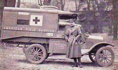 Red Cross ambulance