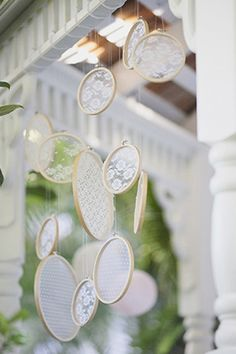 Lace - Lace Decorations | Wedding Planning, Ideas & Etiquette | Bridal Guide Magazine