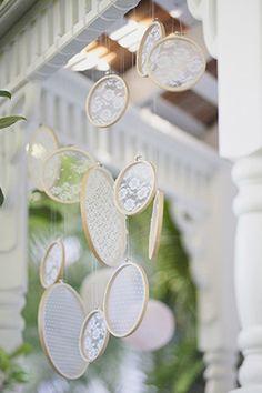 Lace - Lace Decorations | Wedding Planning, Ideas & Etiquette | Bridal Guide Magazine