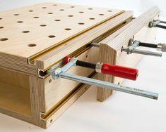 Bauanleitung Aufsatzzange – Nicht ganz nach Moxon   Holzwerkerblog von Heiko Rech