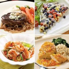 500 Calorie Dinners: 30-Minute Dinners