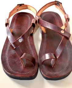 Wundervoll Simple Gladiator Style Leather Sandals Handmade Sandals , Indian Leather  Sandals, Ladies, Mens