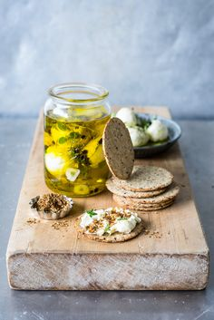 Herby Marinated Labneh