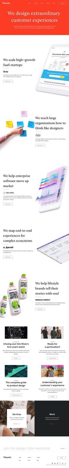 Telepathy - Customer Experience & UX Design Agency
