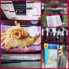 Fish and chips in Geelong Australia. I really enjoyed the lightly battered butterfish scallop and calamari. This was our first stop on the way to 12 Apostles.  #wachay38 #melbournefood #fishandchips #geelong #geelongwaterfront by amyluv2eat http://ift.tt/1JtS0vo