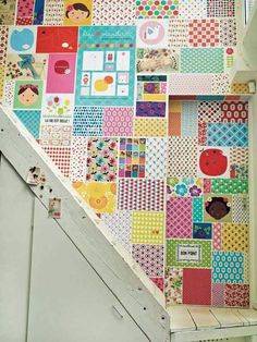 Patchwork wall!