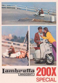 WDC92030 - Lambretta 200SX - Deliciously Vintage don't cha think?!