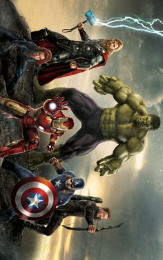 The Avengers jenny Marvel Art, Marvel Heroes, Marvel Movies, Marvel Avengers, Avengers Earth's Mightiest Heroes, Mundo Marvel, Avengers Wallpaper, Marvel Cinematic Universe, Predator