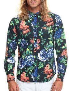 floral print button up shirt - Google Search