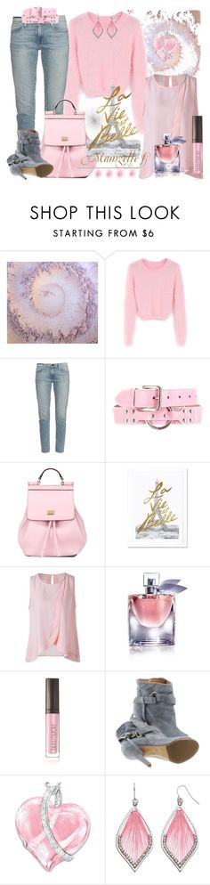 """""""La vie est belle"""" by mamzelle-f ❤ liked on Polyvore featuring WithChic, Frame, Dolce&Gabbana, iCanvas, Lancôme, Laura Mercier, Maison Margiela and The Bradford Exchange"""