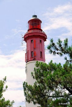 Lighthouse, Lège-Cap-Ferret, #France