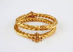 P N Gadgil & Sons (PNG): Light weight gold bangles designs for women with price in India. Buy online gold deginer bangles for daily use. Gold Bangles Design, Gold Jewellery Design, Fashion Jewellery, Amber Jewelry, Gold Jewelry, Bridal Jewelry, Gold Necklace, Diamond Jewelry, Kids Jewelry