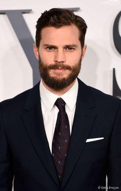"Jamie Dornan Christian Grey | Jamie Dornan, o Christian Grey de ""Cinquenta Tons de Cinza"", veste um ..."