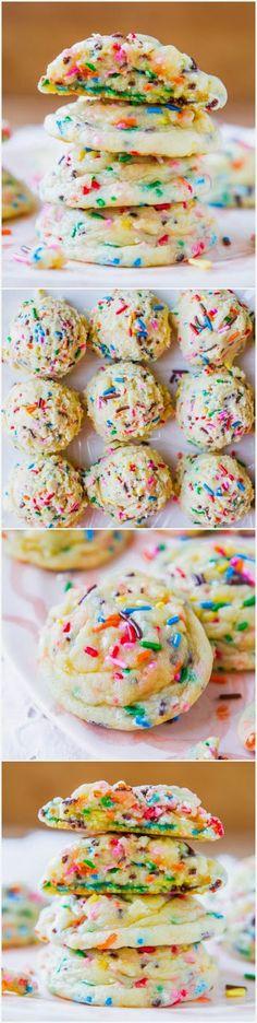 How To Softbatch Funfetti Sugar Cookies