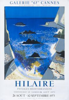 Hilaire - Paysages Mediterraneens by Hilaire, Camille | Shop original vintage #posters online: www.internationalposter.com