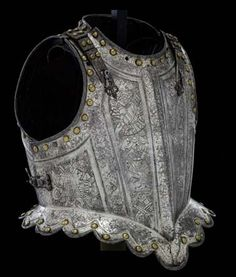 Armour given to Charles II when he was Prince of Wales: