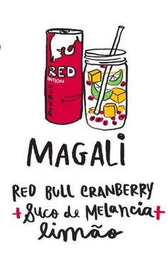 Drinks com redbull