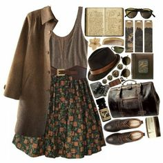 Some of My Favorite Vintage Outfits - and . Hipster Mode, Indie Hipster Fashion, Fall Outfits, Casual Outfits, Hipster Outfits, Club Outfits, Hipster Dress, Grunge Outfits, Look Fashion
