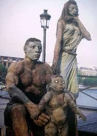 Ousmane Sow Outdoor Sculpture, Sculpture Art, Ousmane Sow, Statues, Art Africain, Africa Art, African Diaspora, Oeuvre D'art, Black Art
