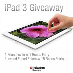 Would you like to win a New iPad 3?   Enter here: http://on.fb.me/OAcwxD
