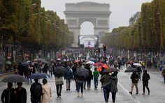 Paris kent merkezinin tamamı araç trafiğine kapatıldı