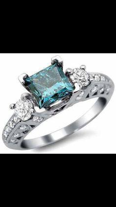 ♥ beautiful blue diamond