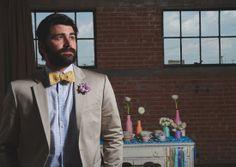 Rainbow + Bowtie WeddingIdeas - Blog - RENT MY DUST Vintage Rentals