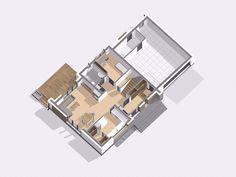 Wolta projekt domu - Jesteśmy AUTOREM - DOMY w Stylu Usb Flash Drive, Houses, Usb Drive