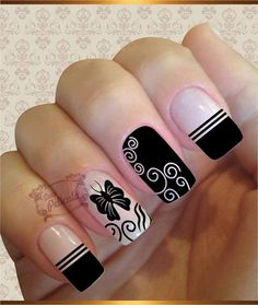 Fabulous Nails, Perfect Nails, Gorgeous Nails, Nagellack Design, Creative Nails, Nail Stamping, Simple Nails, Trendy Nails, Manicure And Pedicure