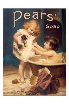 Pears Soap Print - Vintage Advertising Posters - Retro Posters iPosters £7.99