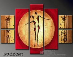 abstract art | Abstract Art Paintings (ZZ-2686) - China Canvas Paintings,Handmade Oil ...
