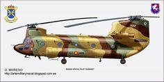 Boeing Vertol CH-47 Chinook - España