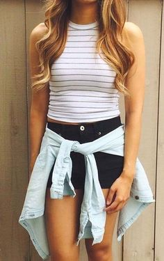 White summer outfit for summer