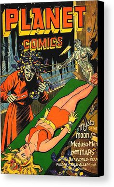 """Dedicated to all things """"geek retro:"""" the science fiction/fantasy/horror fandom of the past including pin up art, novel covers, pulp magazines, and comics. Sci Fi Comics, Fantasy Comics, Bd Comics, Horror Comics, Science Fiction, Pulp Fiction Art, Fiction Novels, Pulp Art, Mad Science"""