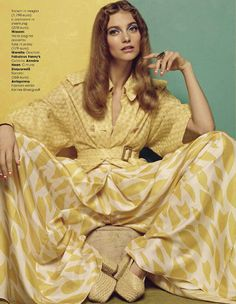 The Best Editorials about the Women's SS 15 Collection | Missoni