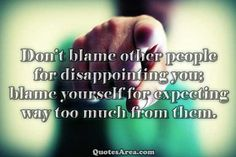 Blaming People Quotes Family. QuotesGram