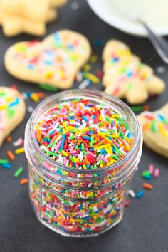 Colorful Sugar Sprinkles stock photo (c) ildi (#8697228) | Stockfresh